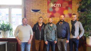 Foto v.l.: Uwe Beermann, Heiko Philippski, Felix Adrian Schäper, Martin Enders, Stefan Hörnemann.