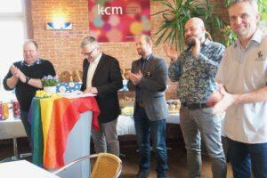 oto v.l.: Uwe Beermann, Heiko Philippski, Felix Adrian Schäper, Martin Enders, Stefan Hörnemann.