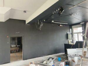 Renovierung Thekenraum