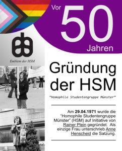 Vor 50 Jahren – Gründung der HSM (1971 – 1974)