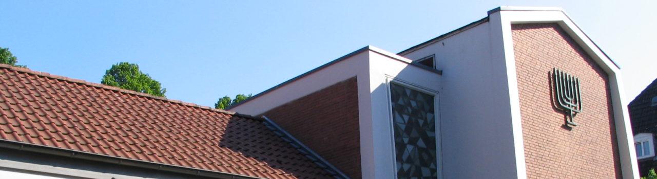 Die 1961 eingeweihte neue Synagoge von Münster.